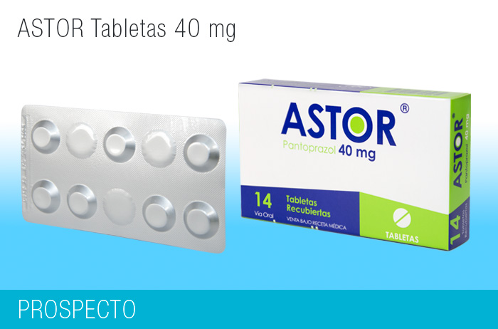 Astor Tabletas 40 mg