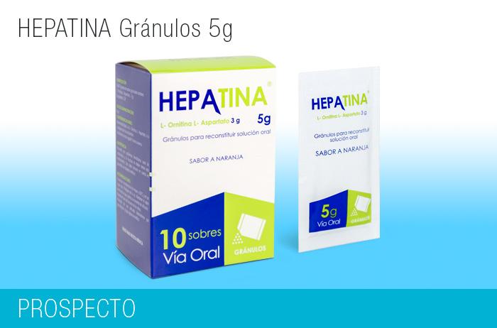 Hepatina Gránulos 5g