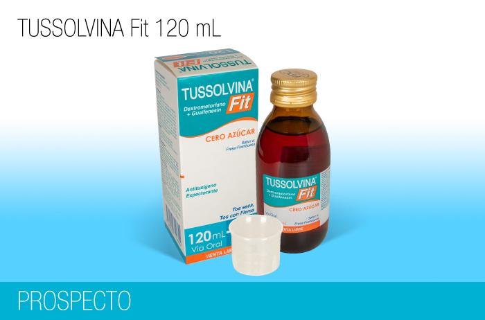 Tussolvina Fit Jarabe 120 ml