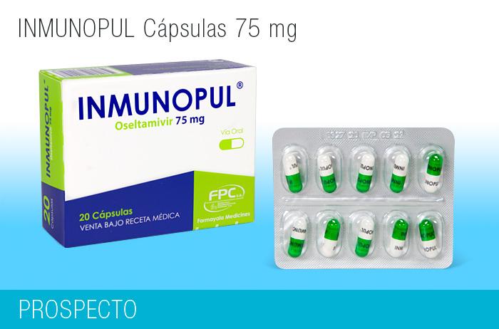 Inmunopul Cápsulas 75 mg