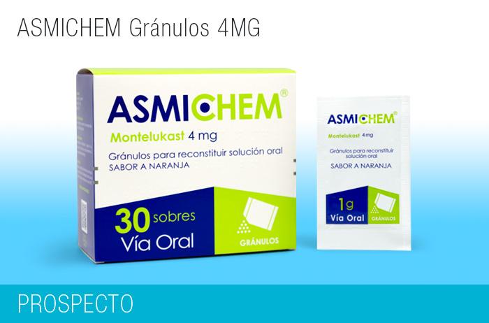 Asmichen Gránulos 4 mg
