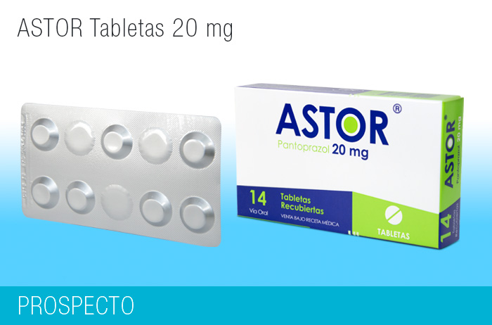 Astor Tabletas 20 mg