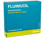 Fluimucil Ampollas 300 mg