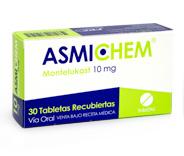 Asmichen Tabletas 10 mg