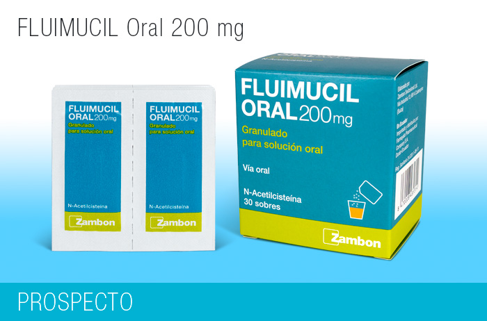 Fluimucil Oral 200 mg x 30