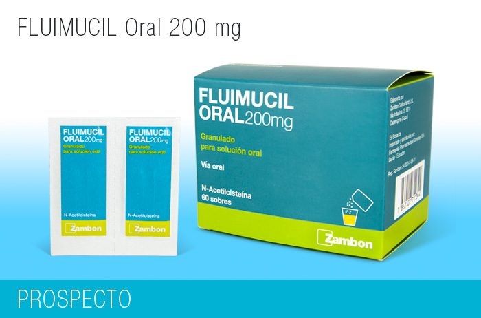 Fluimucil Oral 200 mg x 60