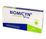 Biomicyn Tabletas 500 mg
